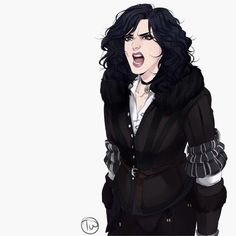 Yennefer of Vengerberg is not pleased with your bullshit The Witcher Books, The Witcher Game, Witcher Art, Dnd Characters, Fantasy Characters, Female Characters, Game Character, Character Concept, Concept Art