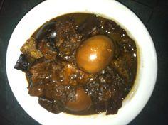 Pig Trotter in Black Vinegar (猪脚醋)
