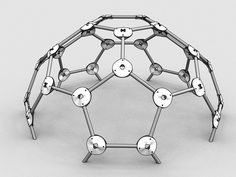 """Designed to be quickly assembled in a geodesic dome, only requires 3 1/2"""" screws per hub. meant to be used with 1/2"""" circular struts"""