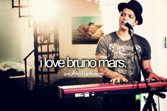 He sings about true love, like TRUE love! ksm