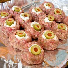 Eyeball Meatballs For Halloween   POPSUGAR Moms