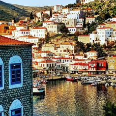 The island of Hydra — less than two hours south of Athens by ferry — offers the ideal Greek island experience, and doesn't even require a long journey across the Aegean. Mykonos, Santorini, Greece Vacation Packages, Greek Islands To Visit, Greek Island Hopping, Travel Sights, Travel Expert, Canada Travel