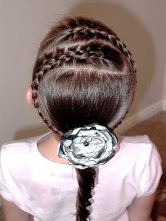 Sensational Shaunell39S Hair Little Girl39S Hairstyles How To Do A Twist Braid Short Hairstyles For Black Women Fulllsitofus