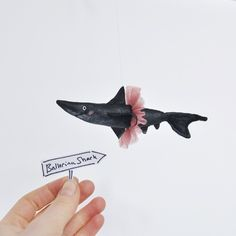 ballerina shark | little beings | designed by alice