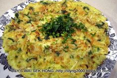 Lily's Wai Sek Hong - Favorites: Whitebait Omelette
