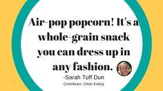 CE Tip 12: Lighten Up Your Snacks #EatCleanIn2016