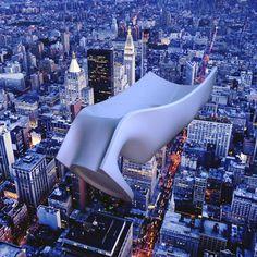 NEW YORK CITY - Manhattan Flying View