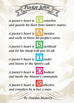 1000+ images about Pastor Appreciation ideas on Pinterest ...