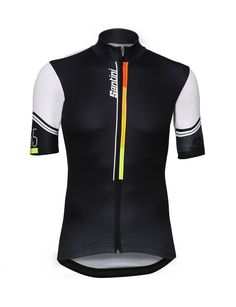 Karma jersey. Inspired and designed on the cut and fabrics of the official UCI World Champion jersey. Extremely light and breathable, it guarantees exception...