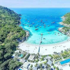 amazingthailand,love-✨🔷The Racha Resort🔷✨Luxury 5 Star hotel located on a tiny island south of PHUKET ⚓️Spend a night in paradise and get a chance Phuket, 5 Star Hotels, Snorkeling, Beautiful Beaches, Thailand, Paradise, Relax, Charter Boat, Island