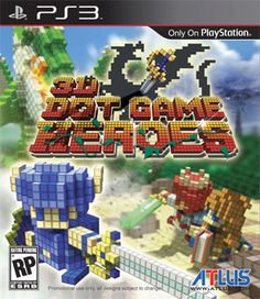 Dot Game Heroes is a title for the PlayStation It's an homage to The Legend of Zelda series and retro gaming in general. You play as a young hero … Hero Games, Ps3 Games, Final Fantasy, Xbox, Buy Playstation, Image 3d, Image Link, 3d Pixel, Dots Game