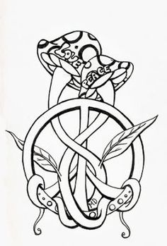 sexy peace tattoo - Google Search Skull Coloring Pages, Love Coloring Pages, Printable Adult Coloring Pages, Coloring Books, Coloring Sheets, Mushroom Drawing, Mushroom Art, Large Mushroom, Trippy Drawings