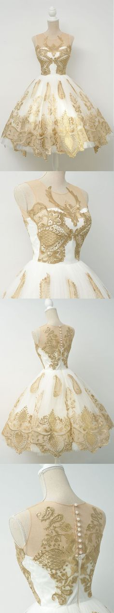 Affordable Junior Popular Applique Short Homecoming Dresses, BG51602