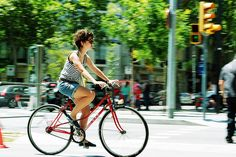 bicycle friendly by Barcelona Cycle Chic, via Flickr