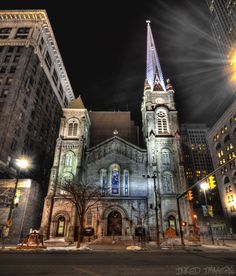 Old Stone Church, Cleveland OH.