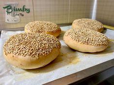 Muffolette Palermitane   Bimby con Rox Hamburger, Bread, Food, November 2, Brot, Essen, Baking, Burgers, Meals