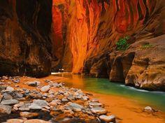 Kanion Zion, Utah.