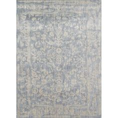 Florence Light Blue/Ivory Area Rug