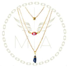 Collar ojo azul by Mery Angel Angel, Pendant Necklace, Fashion Moda, Jewelry, Red Eyes, Blue Eyes, Jitter Glitter, Green Eyes, Necklaces