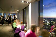 Vertigo 42 champagne bar, City of London