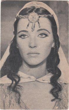 Anna Karina in Shéhérazade, 1963.