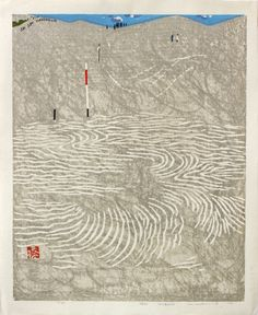 Hashimoto, Okiie Hareaki (晴秋) – Clear autumn day 1976 Saru Gallery - Japanese prints & paintings