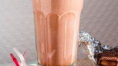 Čokoládové Smoothie s mandlovým mlékem a vločkami