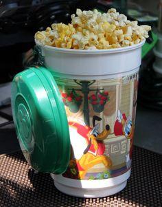 Disney popcorn is the best popcorn ever!  :)