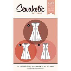 Sewaholic - Davie Dress pattern