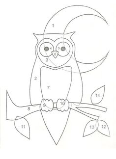 Owl applique idea