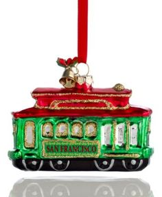 London bus ornament  Christmas Ornaments  Pinterest  London bus