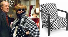 Emma Thompson's Houndstooth Cape! Love love love it!!!