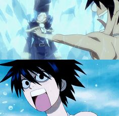 Poor Gray xD ~ Fairy Tail ~ Funny