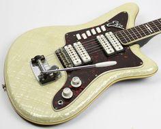 1960s EKO Model 500 Mother of Pearl w Gig Bag Italaian Made Vox 717669726294…