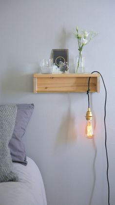 Because nightstands are totally overrated.