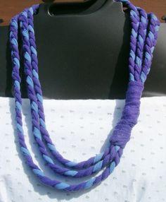 Purple and blue braids.
