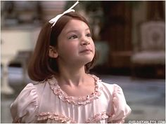 Alicia Morton as Annie in the Disney Movie 1999