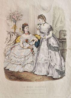 La Mode Illustrée 1871