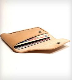 Leather Wallet No. 1 by Motor Street Leather & Stuff on Scoutmob Shoppe