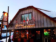 Located near the summit of Mt Hood, Glacier Haus is a little-known restaurant tucked away in the town of Government Camp.