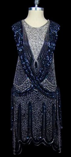 1920's Flapper Dress                                                                                                                                                      More