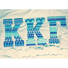 painted sorority letters #krafty #kappa