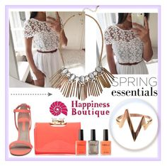 """happinessbtq 1"" by lejlamoranjkic ❤ liked on Polyvore featuring moda, Ted Baker, Dorothy Perkins ve happinessbtq"