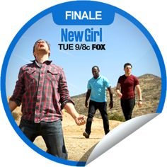 """You're saying """"See Ya"""" to the first season of New Girl! Thanks for tuning in to the finale tonight! Share this one proudly. It's from our friends at FOX."""