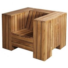 Outdoor Enormous Armchair Piet Hein Eek #outdoors #chair #summer #patio