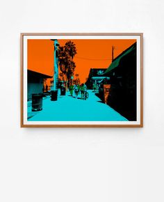 STREET II by SØLVE. Contemporary Art & Graphic Design Prints. Online store. Worldwide shipping. www.solveprint.com