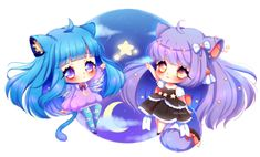 Commission: Moly and Hanin ~ by Hiratsumi on DeviantArt