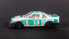 1980s Yatming Chevrolet Lumina Silver & Green #13 Racing Champions No. 1003b Die Cast Toy Car https://treasurevalleyantiques.com/products/1980s-yatming-chevrolet-lumina-silver-green-13-racing-champions-no-1003b-die-cast-toy-car #Vintage #1980s #80s #Eighties #Yatming #Chevrolets #Chevs #Chevys #Silver #Green #Racing #Champions #Diecast #Toys #Cars #Vehicles #Autos #Automobiles #RaceCars