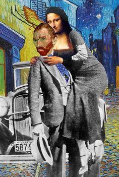Mona Van Lisa Gogh
