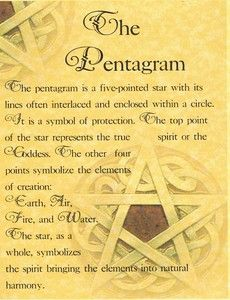 "Spell Book Pages | Book of Shadows Page ""Pentagram"" Wicca Pagan BOS Magick Spell 